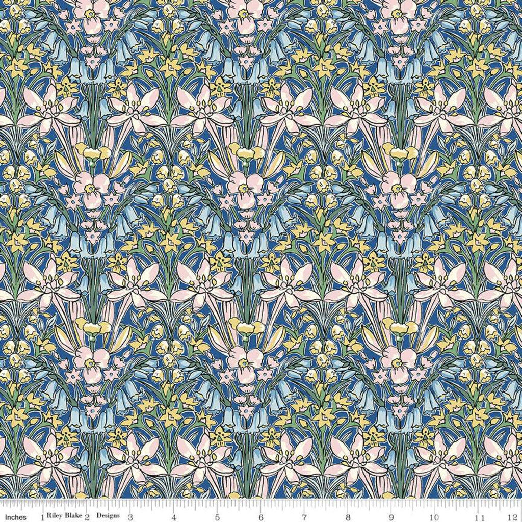 Flower Show Spring - Adlington Hall - Liberty of London Cotton Fabric