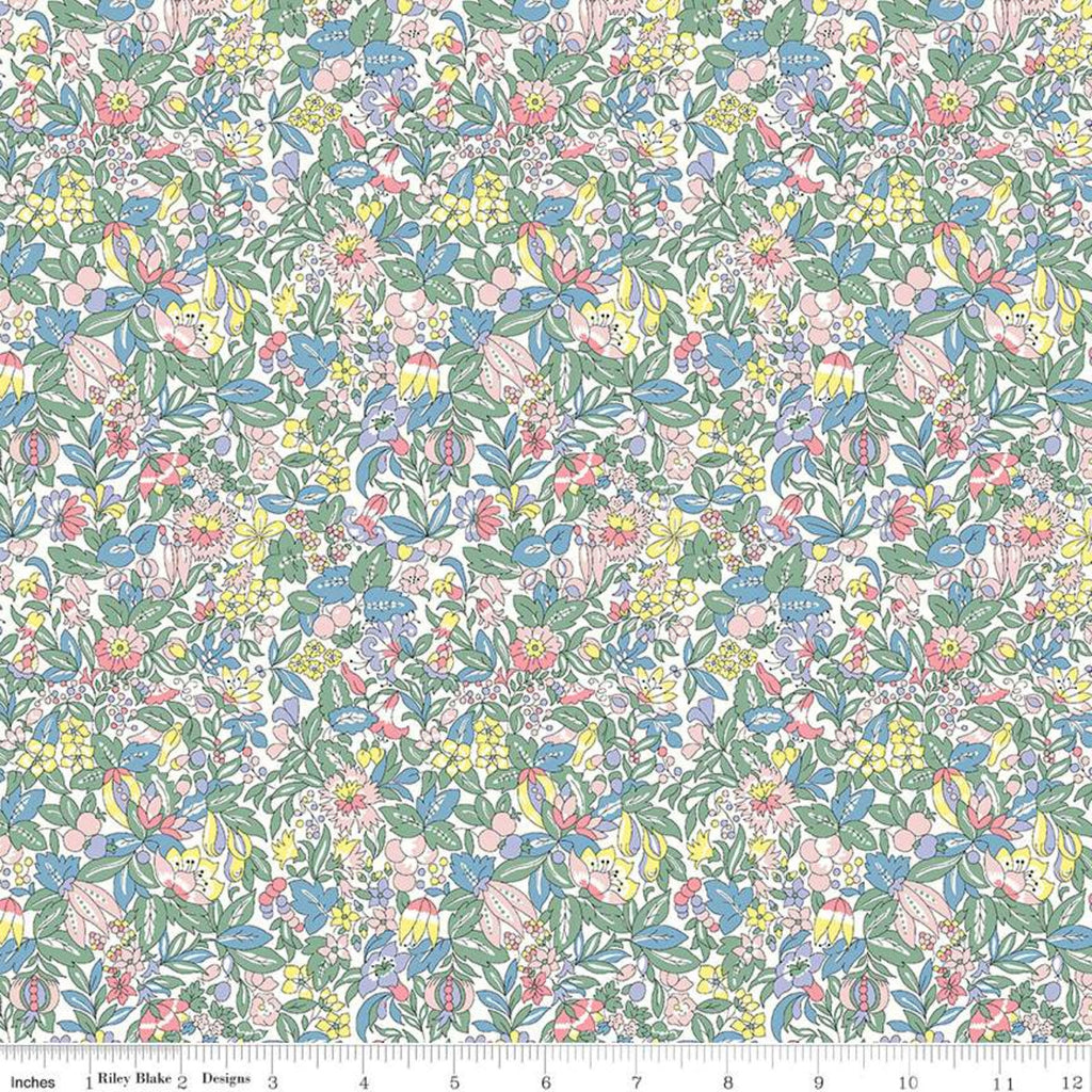 Flower Show Spring - Hyde Floral - Liberty of London Cotton Fabric