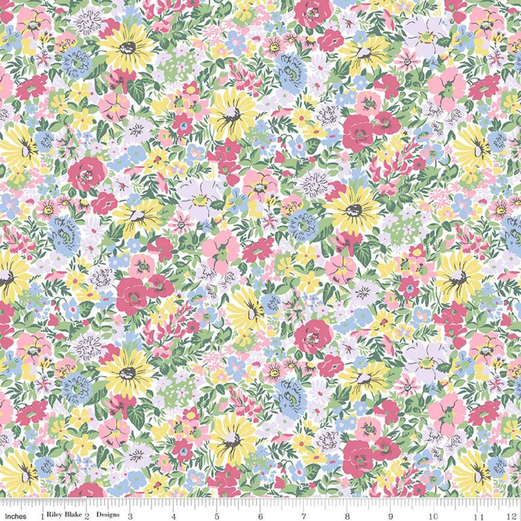 Flower Show Spring - Malvern Meadow - Liberty of London Cotton Fabric