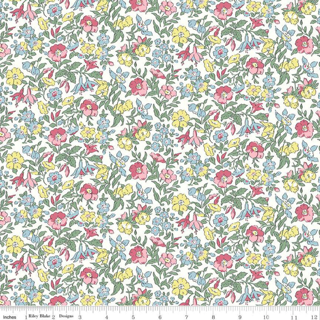 Flower Show Spring - Mamie - Liberty of London Cotton Fabric