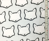 Clever Little Fox - Capsules Nest for Art Gallery Fabrics - Cotton Knit