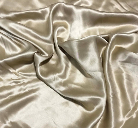 Gold - Sandwashed Silk Charmeuse