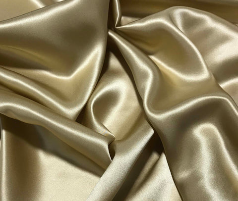 Gold - 19mm Silk Charmeuse