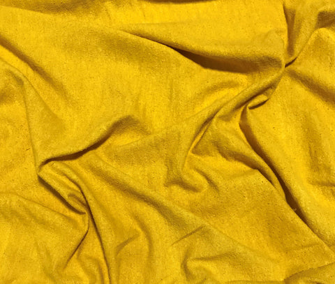 Honey Mustard - Hand Dyed Silk Noil