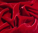 Christmas Red - Silk Velvet