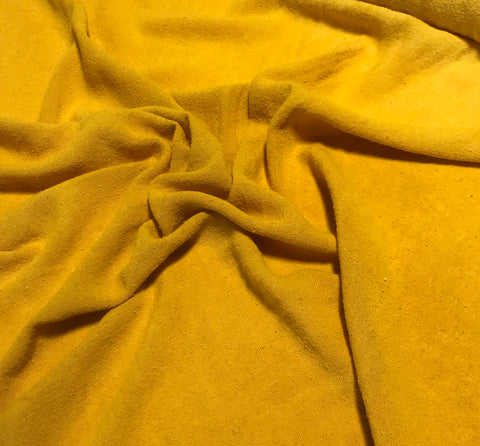 Honey Mustard - Hand Dyed Poplin Gauze Silk Noil