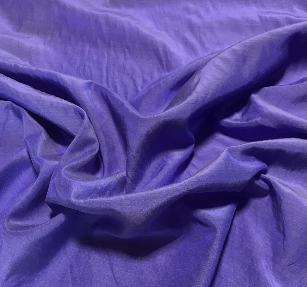 Iris Purple - Hand Dyed Silk/ Cotton Habotai