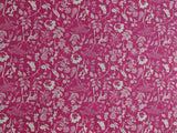 Flora and Fauna Milieu Pink Woodland - Art Gallery Fabrics -Premium Cotton