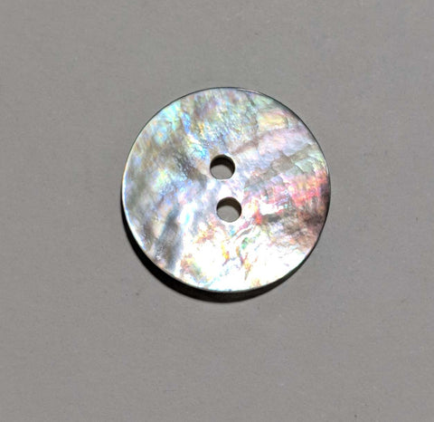 Mother of Pearl 2 Hole Button - Dill Buttons