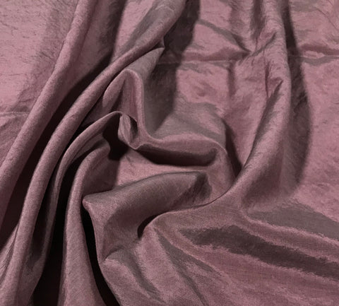 Antique Mauve - Hand Dyed Silk/ Cotton Habotai