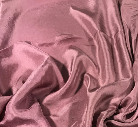 Antique Mauve - Hand Dyed Silk Twill