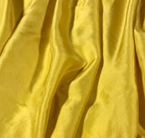 Mustard Yellow - Hand Dyed Silk Twill