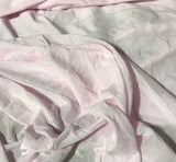 Baby Pink - Hand Dyed Silk/Cotton Voile