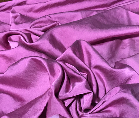 Lilac - Hand Dyed Silk/Cotton Satin