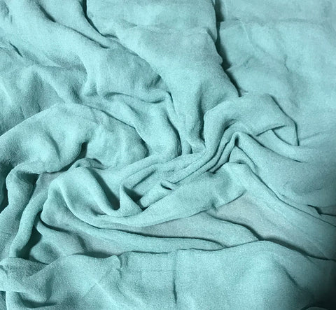 Sage Green - 3mm Hand Dyed Silk Gauze Chiffon