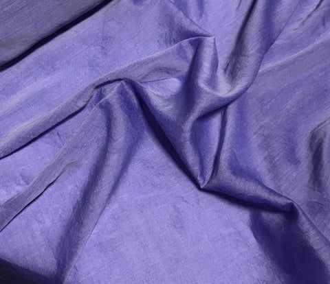 Iris Purple - Hand Dyed Silk/Cotton Voile