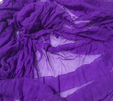 Violet Purple - 3mm Hand Dyed Silk Gauze Chiffon