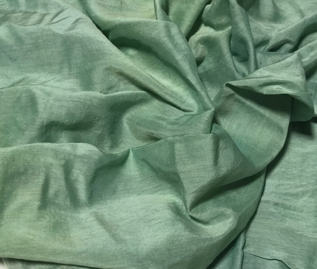 Celadon - Hand Dyed Silk/Cotton Voile