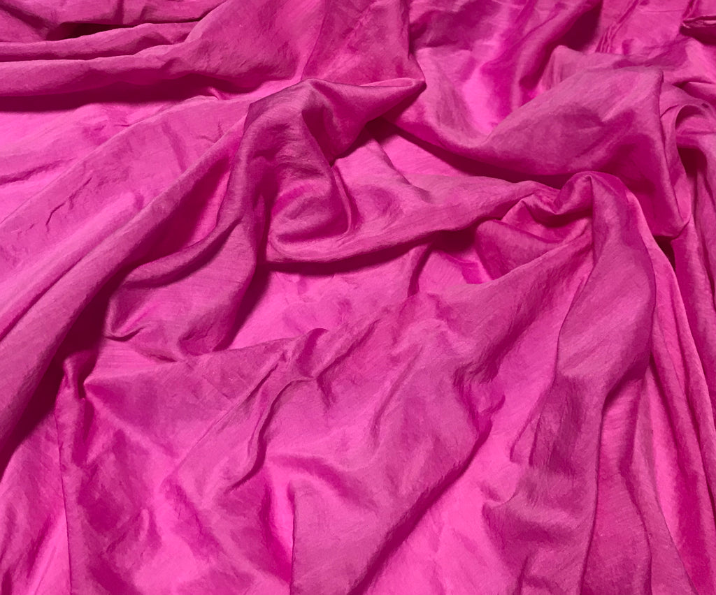 Pink Orchid - Hand Dyed Silk/Cotton Voile