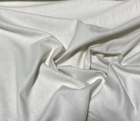 Bright White - Silk Noil