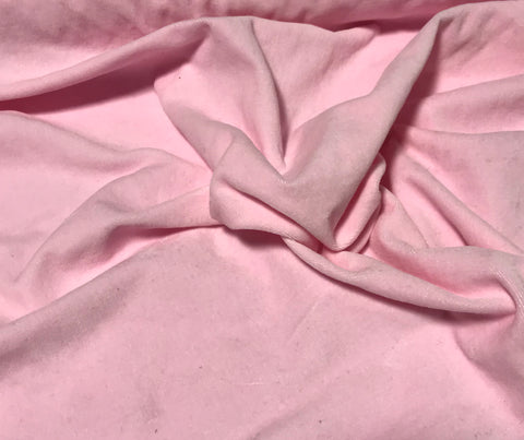 Blush Pink - Hand Dyed Cotton Velveteen