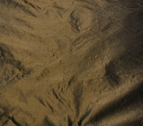 Bronze - Silk Taffeta Fabric