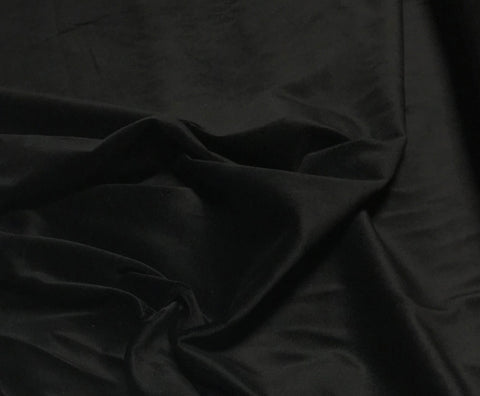 Black Spechler Vogel Cotton Velveteen Fabric