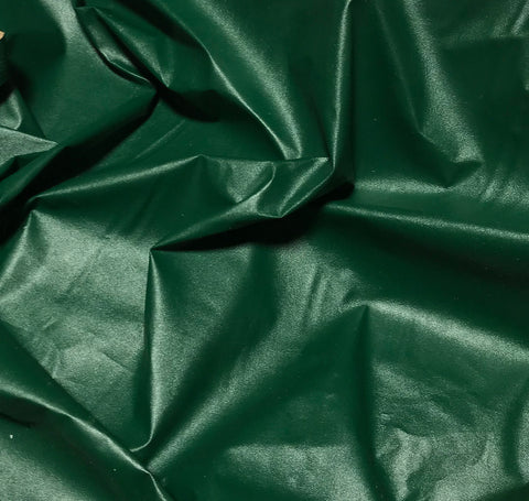 Hunter Green - Faux Leather Fabric