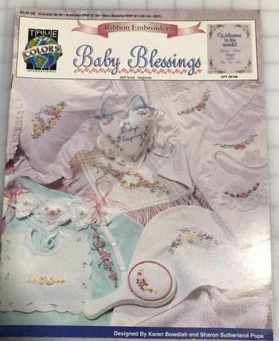 Baby Blessings - Ribbon Embroidery Booklet