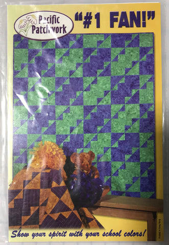 #1 Fan - Pacific Patchwork Quilt Pattern