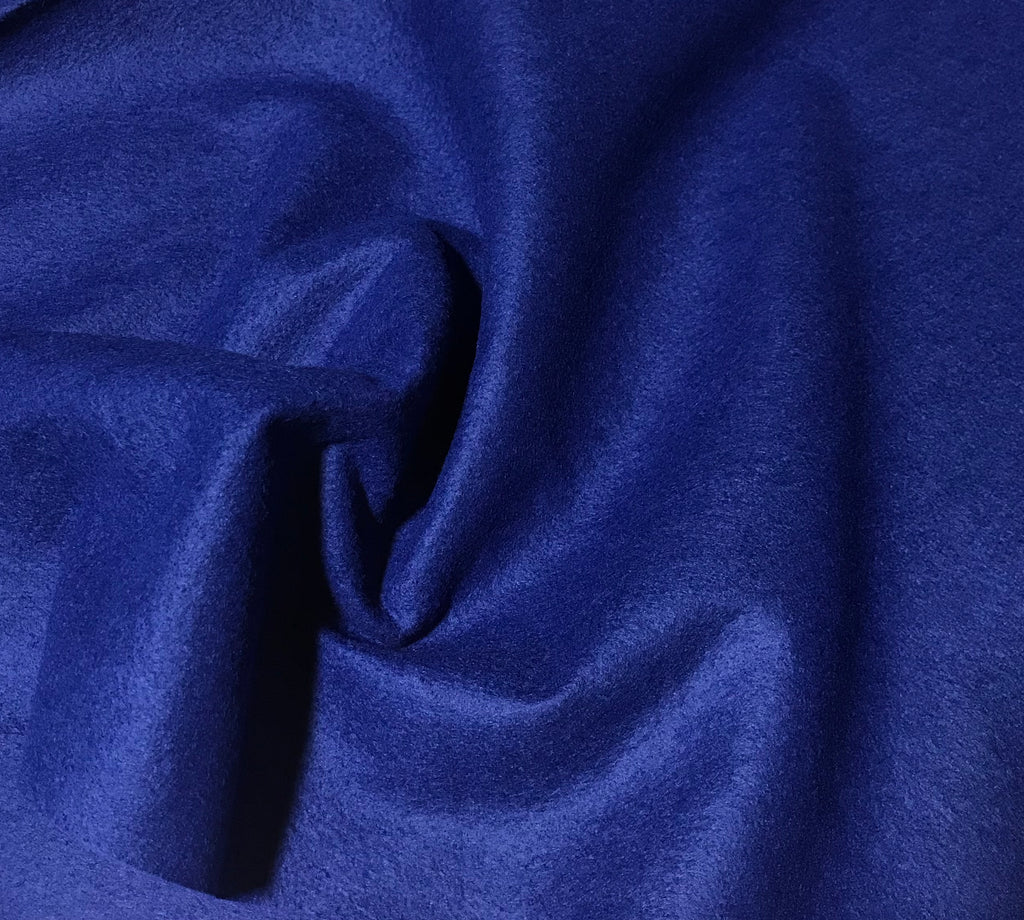 Royal Blue - Wool /Rayon Blend Felt Fabric