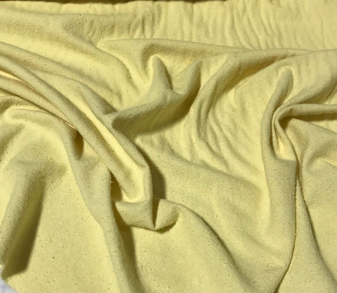 Butter Yellow - Hand Dyed Silk Noil