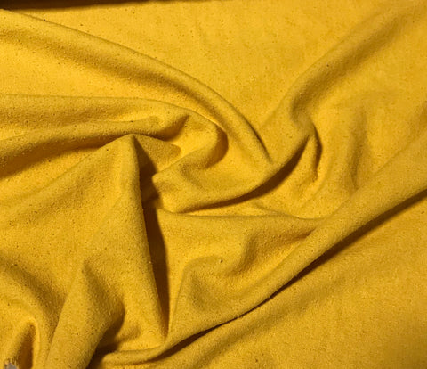 Gold - Hand Dyed Silk Noil Fabric