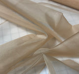 Peach - Silk Organza Fabric
