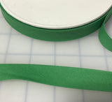 "Poly Cotton Single Fold Bias Tape Made in France 3/4"" ( 8 Colors to choose from)"