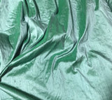 Eucalyptus Mint - Silk Dupioni Fabric