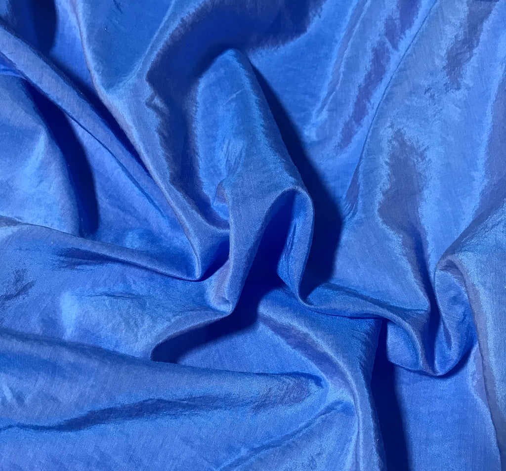 Cornflower - Hand Dyed Silk/ Cotton Habotai