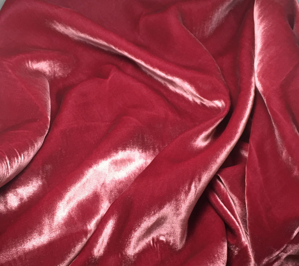 Antique Rose - Silk Velvet