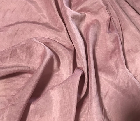 Antique Mauve - Hand Dyed Silk/Cotton Voile