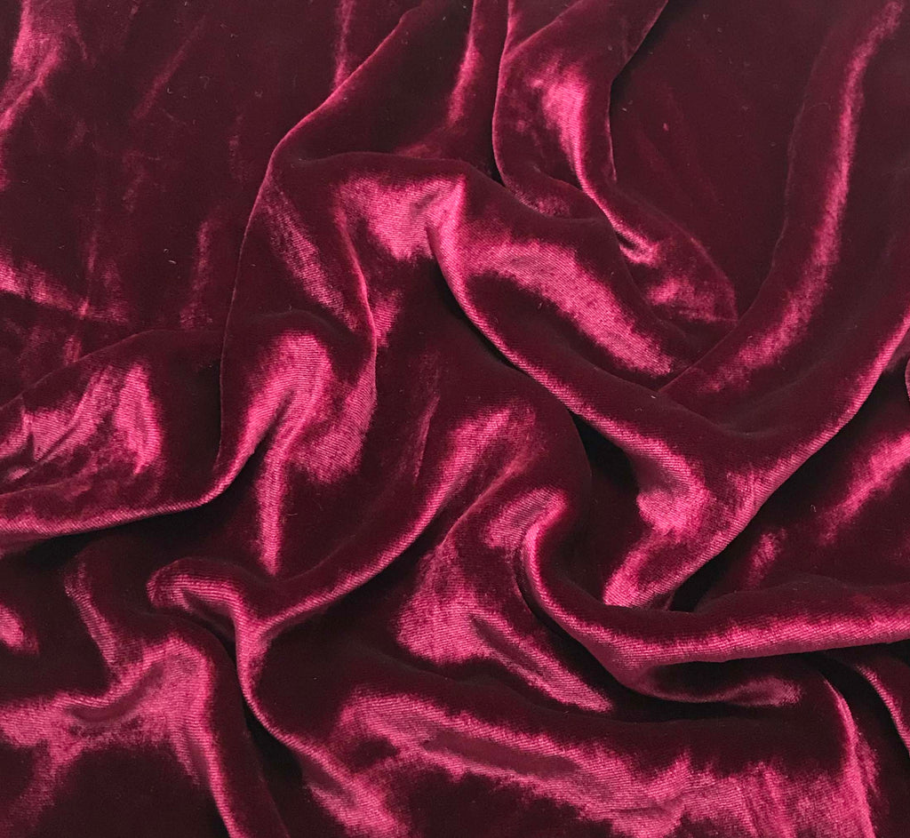 Red Wine - Silk Velvet