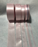 Blush Pink Double Sided Satin Ribbon - Made in France (6 Widths to choose from)