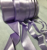 Lavender Double Sided Satin Ribbon - Made in France (7 Widths to choose from)