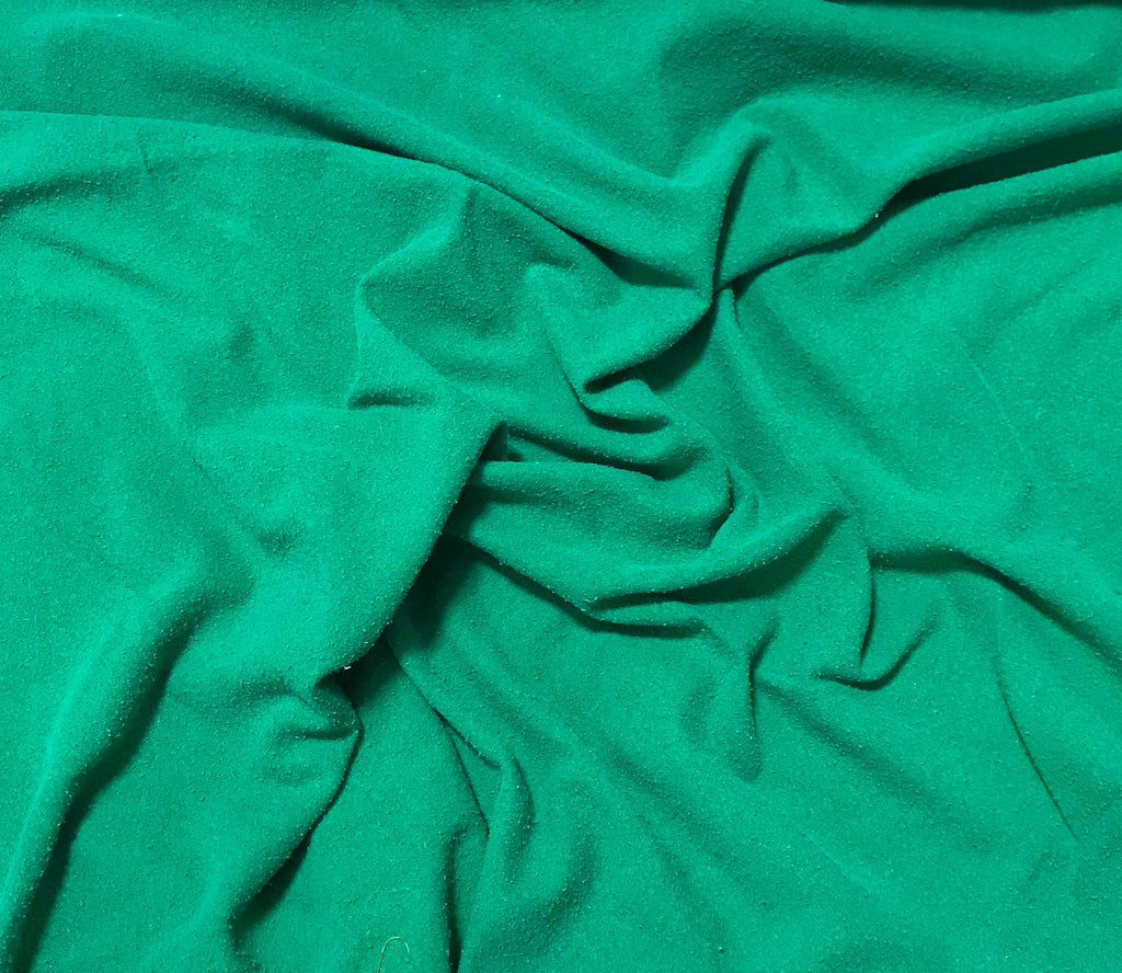 Emerald Green - Hand Dyed Silk Noil