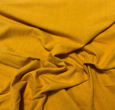 Golden Poppy - Hand Dyed Silk Noil