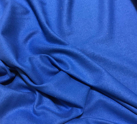 Royal Blue - Silk Noil