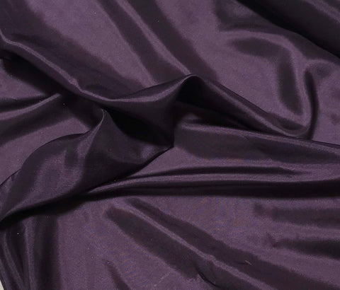 Plum Purple - 8mm Silk Habotai
