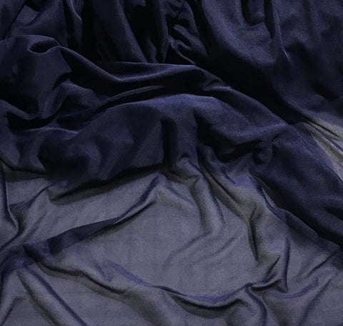 Berry Blue - Polyester Chiffon Jersey Knit Fabric