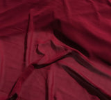 Rouge Red - Polyester Chiffon Fabric