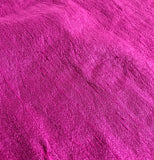 Orchid Pink - Hand Dyed Silk Dupioni