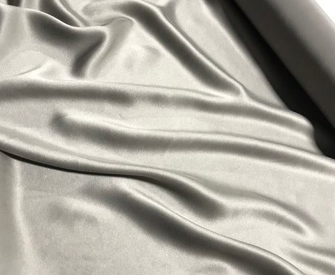 Taupe - Sandwashed Silk Charmeuse